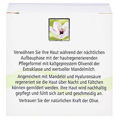 OLIVEN-MANDELMILCH regenerierende Nachtpflege 50 Milliliter - Rückseite