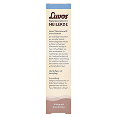 LUVOS Naturkosmetik Gesichtsserum Intensivpflege 50 Milliliter - Rückseite