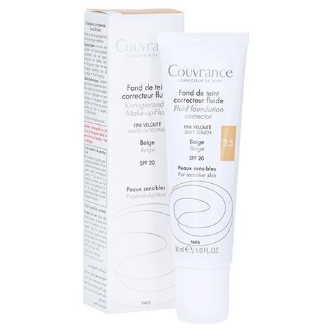 AVENE Couvrance korrigier.Make-up Fluid beige 2,5 30 Milliliter