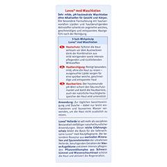 LUVOS Naturkosmetik MED Wasch- und Duschlotion 200 Milliliter - Rückseite