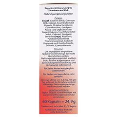 DOPPELHERZ Coenzym Q10+B Vitamine Kapseln 60 Stück - Rechte Seite