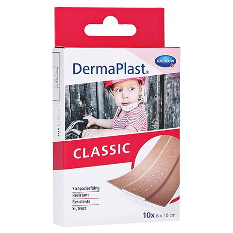 DERMAPLAST CLASSIC Wundpflaster 6x10 cm 10 Stück