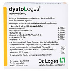 DYSTOLOGES Injektionslösung Ampullen 10x2 Milliliter N1 - Rückseite