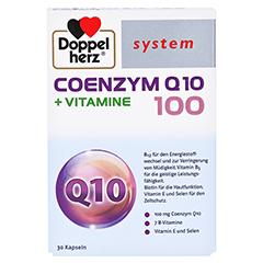 DOPPELHERZ Coenzym Q10 100+Vitamine system Kapseln 30 Stück - Vorderseite
