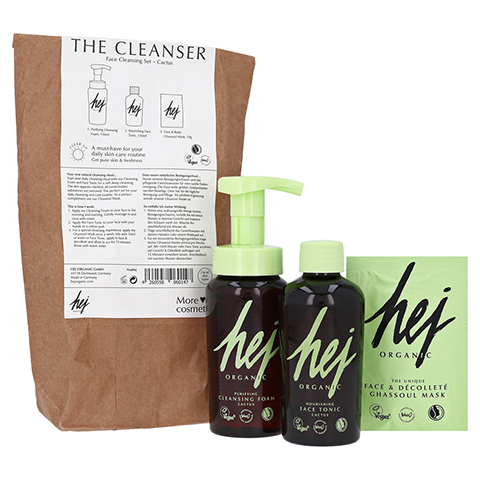 THE CLEANSER Face Cleansing Set Cactus 1 Packung
