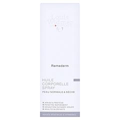 WIDMER Remederm Körperöl Spray leicht parfüm. 150 Milliliter - Rückseite