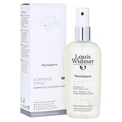 WIDMER Remederm Körperöl Spray leicht parfüm. 150 Milliliter