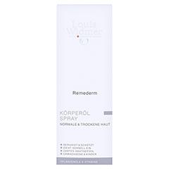 WIDMER Remederm Körperöl Spray leicht parfüm. 150 Milliliter - Vorderseite