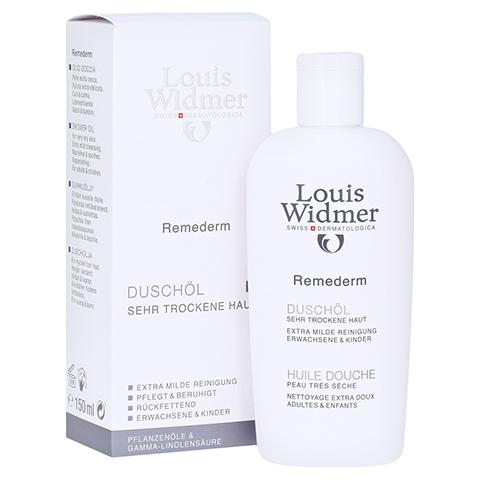WIDMER Remederm Duschöl leicht parfümiert 150 Milliliter