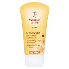WELEDA Calendula Waschlotion & Shampoo 20 Milliliter