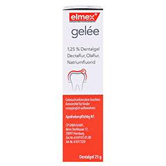 Elmex Gelee + gratis elmex Kariesschutz Zahnpasta 19ml 25 Gramm N1 - Rechte Seite