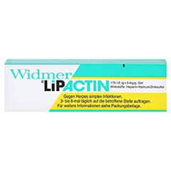 Widmer Lipactin 3 Gramm - Vorderseite