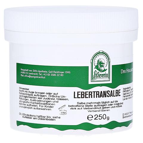 LEBERTRANSALBE 250 Gramm