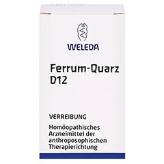 FERRUM QUARZ D 12 Trituration 20 Gramm N1 - Vorderseite