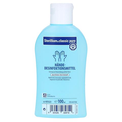 Sterillium classic pure Händedesinfektion 100 Milliliter