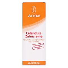 Weleda Calendula Zahncreme 75 Milliliter - Vorderseite