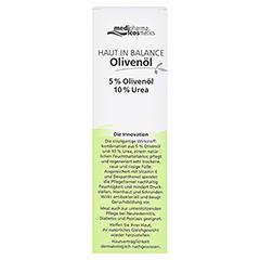 medipharma Haut in Balance Olivenöl Dermatologische Fußcreme 100 Milliliter - Rückseite