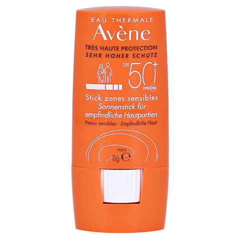 Avène Sonnenstick für empfindliche Hautpartien SPF 50+ 8 Gramm