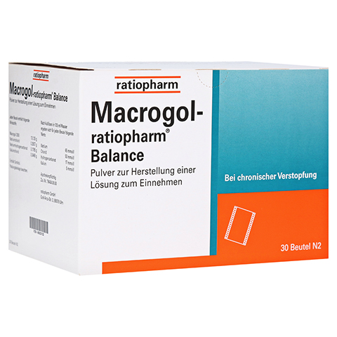 Macrogol ratiopharm Balance 30 Stück N2