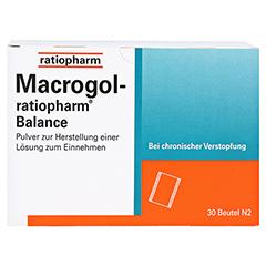 Macrogol-ratiopharm Balance 30 Stück N2 - Vorderseite