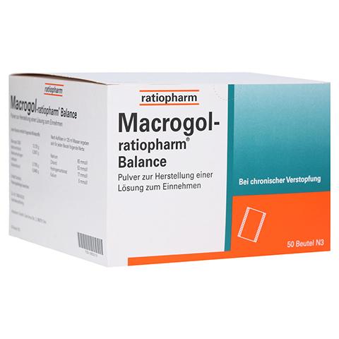 Macrogol ratiopharm Balance 50 Stück N3