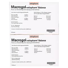 Macrogol ratiopharm Balance 100 Stück - Linke Seite