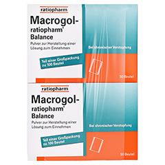Macrogol ratiopharm Balance 100 Stück - Vorderseite