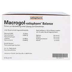 Macrogol ratiopharm Balance 50 Stück N3 - Linke Seite