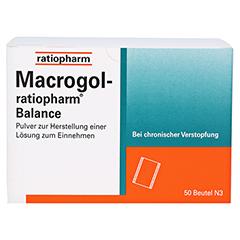Macrogol ratiopharm Balance 50 Stück N3 - Vorderseite