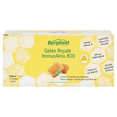 GELEE ROYALE ImmunAktiv 800 15 ml Trinkampullen 14 Stück - Vorderseite