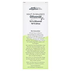medipharma Haut in Balance Olivenöl Dermatologische Körpercreme 10% 200 Milliliter - Rückseite