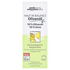 medipharma Haut in Balance Olivenöl Dermatologische Körpercreme 10% 200 Milliliter - Vorderseite