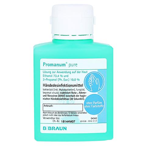 PROMANUM pure Händedesinfektion 100 Milliliter