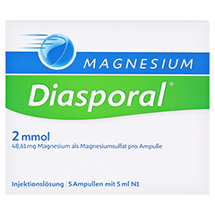 Magnesium-Diasporal 2mmol 5x5 Milliliter N1 - Vorderseite