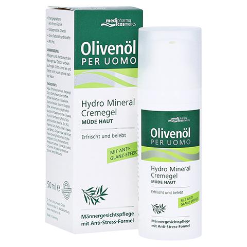 OLIVENÖL PER Uomo Hydro Mineral Cremegel 50 Milliliter