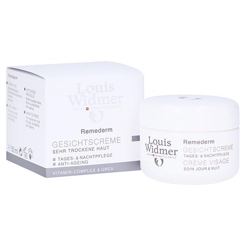 WIDMER Remederm Gesichtscreme leicht parfümiert 50 Milliliter