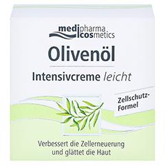 medipharma Olivenöl Intensivcreme leicht 50 Milliliter - Vorderseite