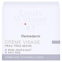 WIDMER Remederm Gesichtscreme leicht parfümiert 50 Milliliter - Rückseite