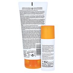 Eucerin Sun Oil Control Set Gesicht+Körper LSF 50+ + gratis Eucerin Strandtasche 1 Packung - Rückseite