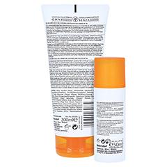 Eucerin Sun Oil Control Set Gesicht+Körper LSF 30 + gratis Eucerin Strandtasche 1 Packung - Rückseite