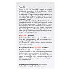 Propolis Halspastillen 30 Stück - Rückseite
