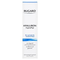 RUGARD Hyaluron Augenpflege 15 Milliliter - Vorderseite