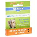 PETVITAL Novermin flüssig f.Hunde bis 15 kg 2 Milliliter