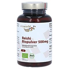 REISHI Biopulver 500 mg Kapseln 120 Stück