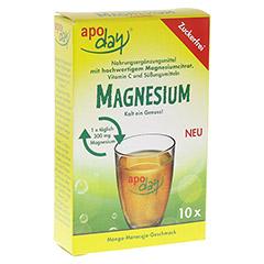 APODAY Magnesium Mango-Maracuja zuckerfrei Pulver 10x4.5 Gramm