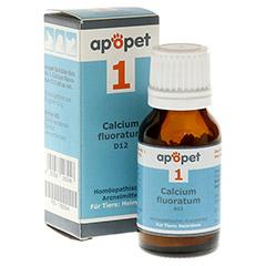 APOPET Schüßler-Salz Nr.1 Calcium fluor.D 12 vet. 12 Gramm