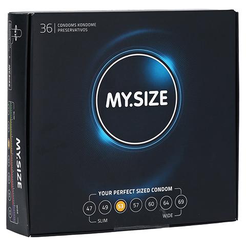 MYSIZE 53 Kondome 36 Stück