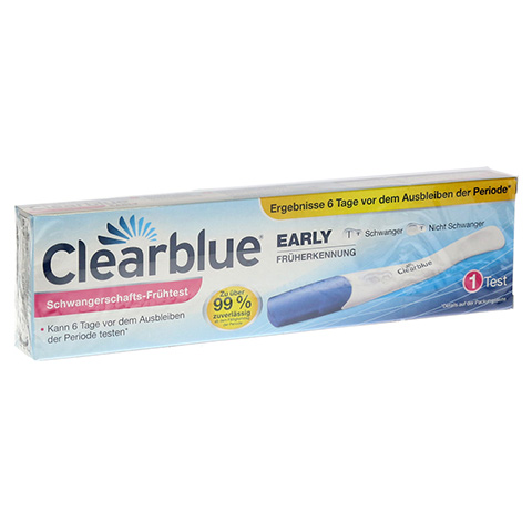 CLEARBLUE EARLY Schwangerschafts-Frühtest 1 Stück