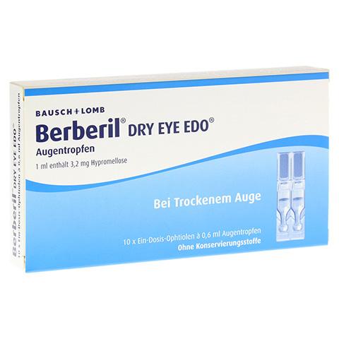 Berberil Dry Eye EDO 10x0.6 Milliliter