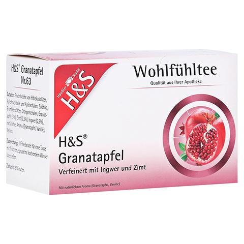 H&S Granatapfel Filterbeutel 20x2.0 Gramm